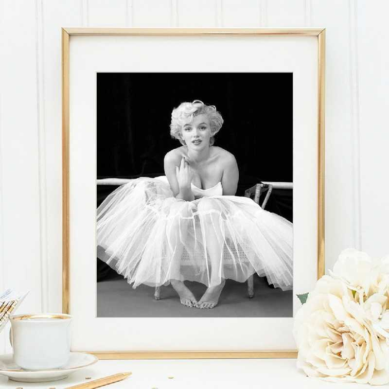 Marilyn Monroe Poster Canvas Painting Fashion Wall Picture Prints for Living Room Wall Art Home Decor
