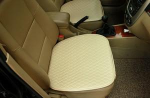 Image 5 - 1 conjunto de assento do carro capa de almofada estilo do carro acessórios do carro conjunto almofada esteira cadeira almofada para carro