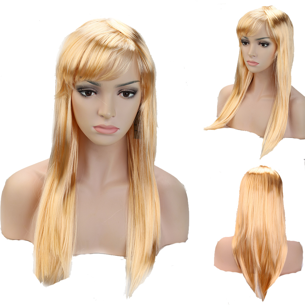 Long Blonde Wig For Costumes 22