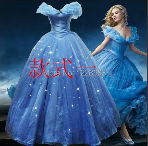 Costumes de cendrillon adultes faits sur commande de nouvelle conception femmes Costumes de Cosplay de robe de fête d'halloween