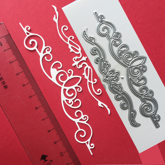 Aliexpress.com : Buy Lace patterns crapbooking cutting/embossing die ...