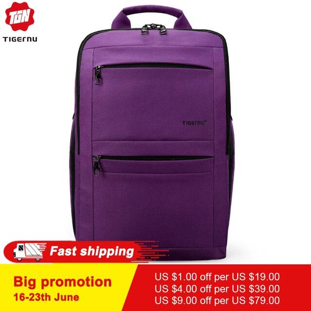 Tigernu Brand Youth Women Backpack Trend Ladies Female Laptop backpack 14-17inch School bag Backpack Bolsas Mochila men