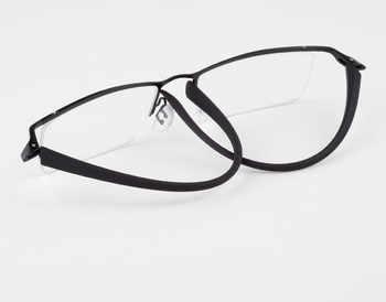 New Titanium TR90 Fahion Reading Glasses Half Rimless Men Women +50 +75 +100 +125 +150 +175 +200 +250 +3 +350 +375 +4 +425 +450