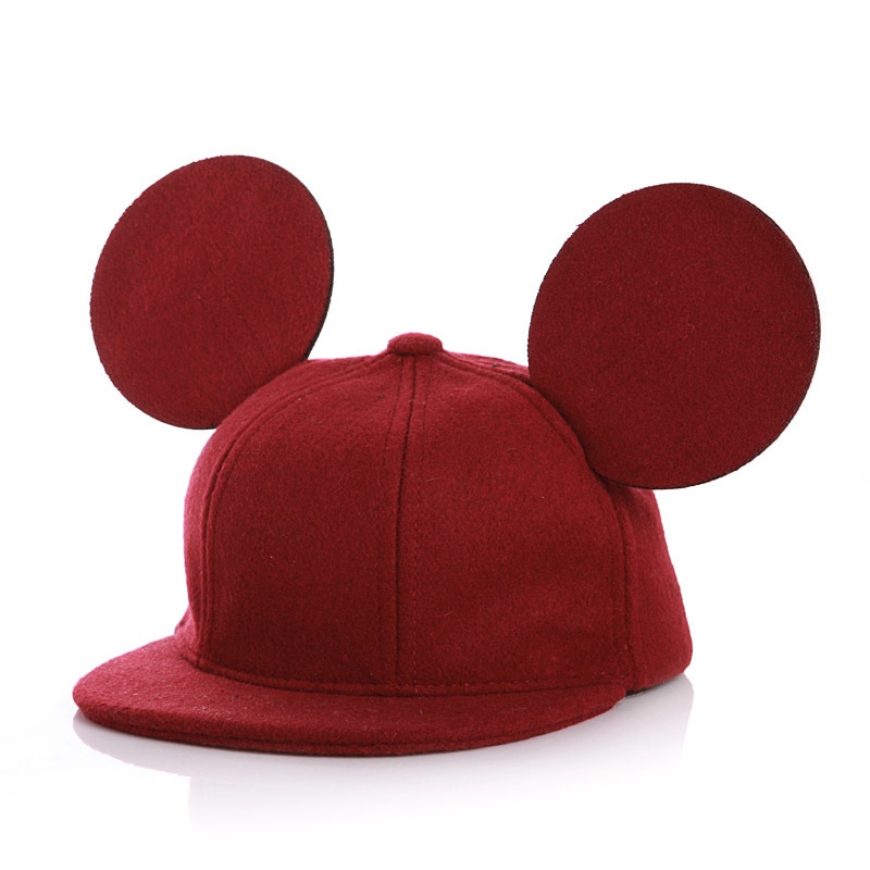 Új gyerekek kalapok Snapback alkalmi csípő téli sapka aranyos - Bébi ruházat