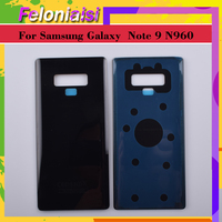 "galaxy note 10Pcs 6.3"" Back Glass Replacement For Samsung Galaxy Note9 Note 9 N960 N960F N960P Battery Cover Rear Door Housing Case Shell (2)"