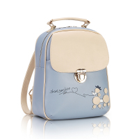 Fashion Cartoon Dog Style Cute Teenage Girls Backpacks For Kids Satchel Children Middle High Elementary School