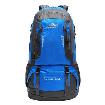 цена на High Quality Rucksack 60L Large capacity Waterproof Backpack Ultra-breathable Shoulder Bag Men And Women Male Escolar travel bag