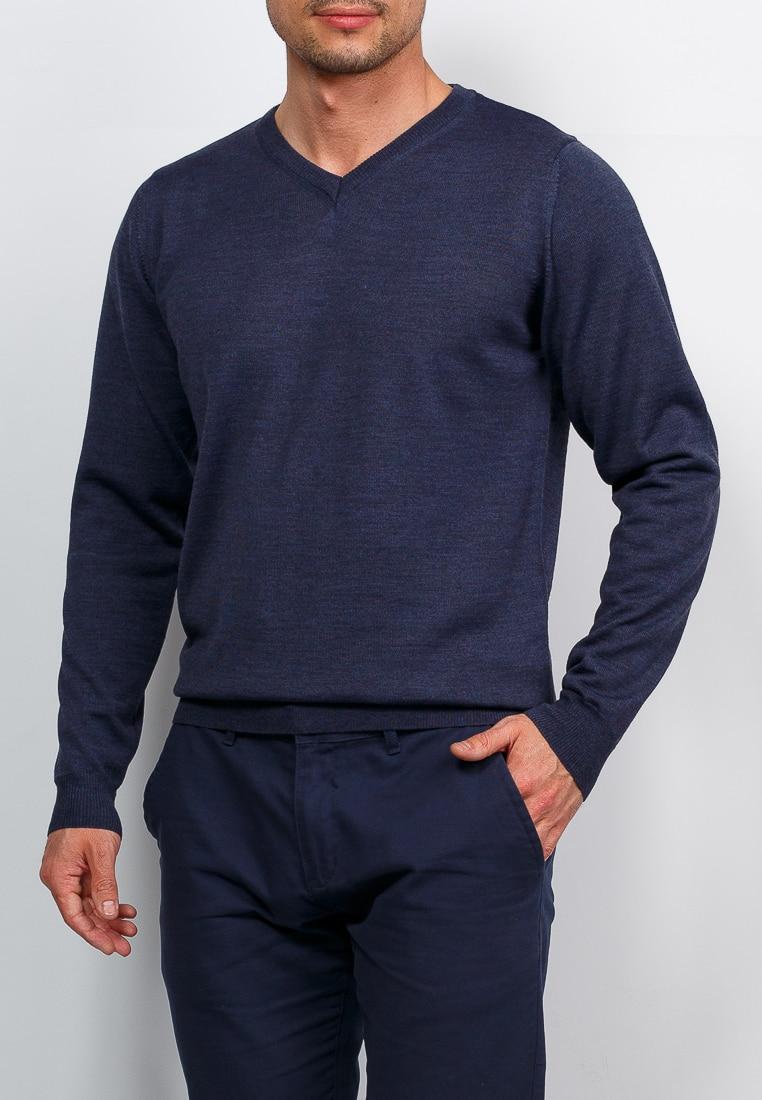 Cardigan male GREG G124 6061 (denim) Blue zengli mens denim cargo shorts jeans casual vintage blue pockets biker jeans summer knee length denim shorts 40 42 44 46 48