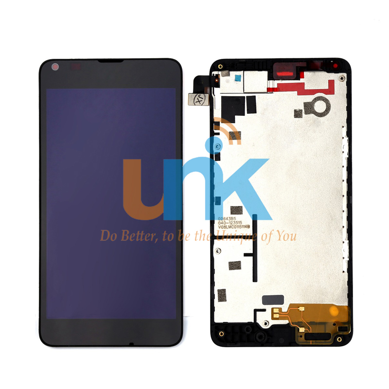 Original Black For Nokia 640 LCD Display Lumia 640 lcd Screen Touch Digitizer Assembly + Frame Replacement Pantalla + Tracking original lcd for wiko ridge 4g lcd display with touch screen digitizer pantalla assembly replacement 5 inch black color