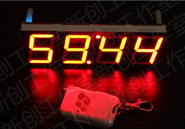 Wireless Countdown Clock For Real Life Room Escape Game
