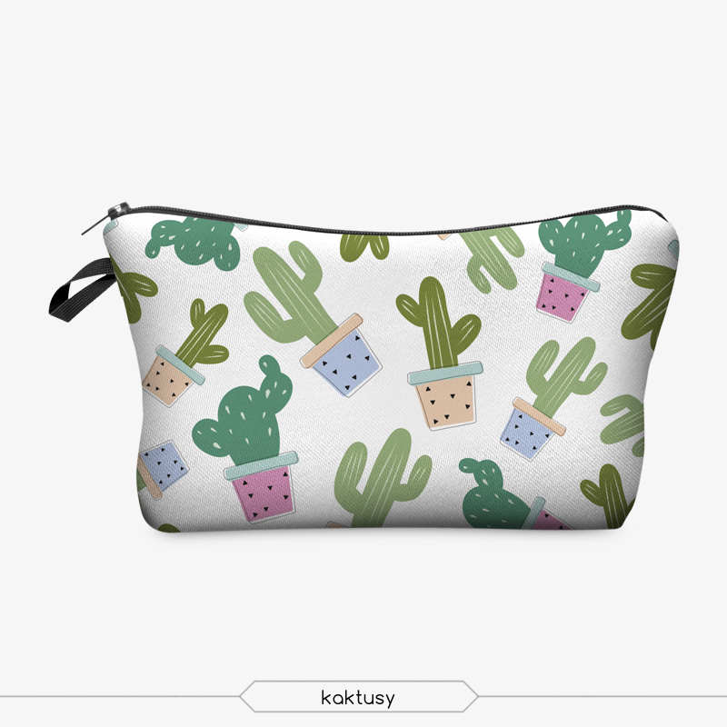 Jom Tokoy 3D Printing Makeup Bags With Multicolor Pattern Cute Cosmetics Pouchs For Travel Ladies Pouch Women Cosmetic Bag 27