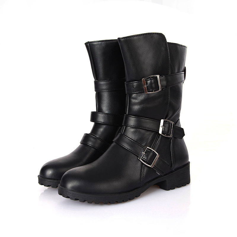 High Quality Black Womens Combat Boots-Buy Cheap Black Womens ...