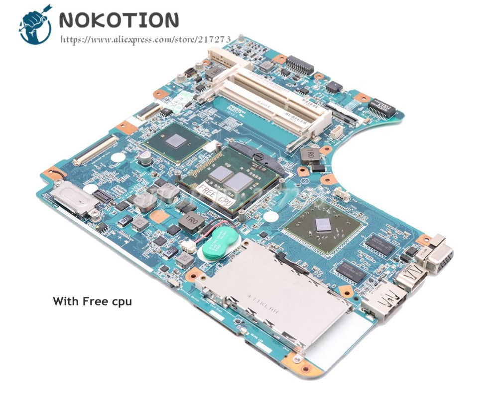 NOKOTION For Sony VPCEC PCG-9111L Laptop Motherboard 1P-0106J02-8011 A1794342A A1771579A A1794341 MBX-225 M981 MAIN BOARD