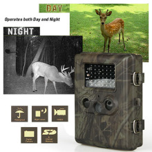Waterproof Hunting Camera HD Digital Infrared Scouting Trail Camera with 42pcs IR LEDs