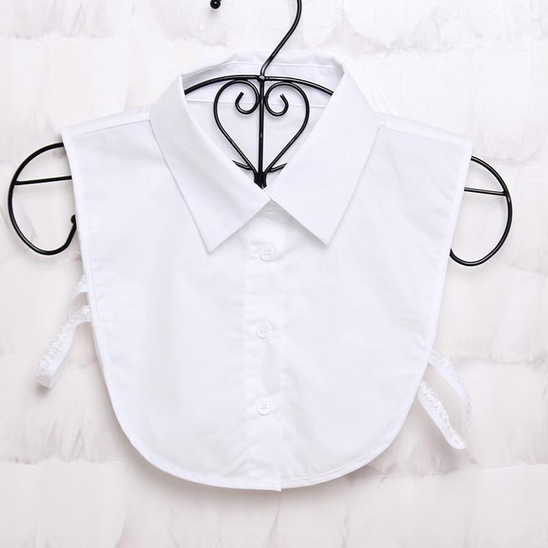 Women Bow Tie White & Black Lace Vintage Detachable Collar False Collar Lapel Blouse Top Women Clothes