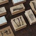 Деревянный крафт-бокс  бумажный мешок  ретро заметки  конверт  украшение  сделай сам  печать  человеческий скелет  декоративная ручная учётн...