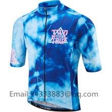 Morvelo new blue men cycling clothing 2019 pro team bike jersey bib shorts ropa ciclismo hombre summer sport short&set triathlon