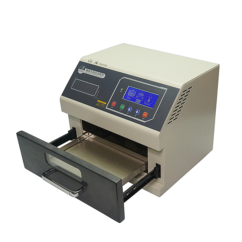 Image 5 - LY 962 Digital Display SMD SMT Reflow Oven Programmable Mini Reflow Soldering Oven 700W 110V 220V-in Soldering Stations from Tools