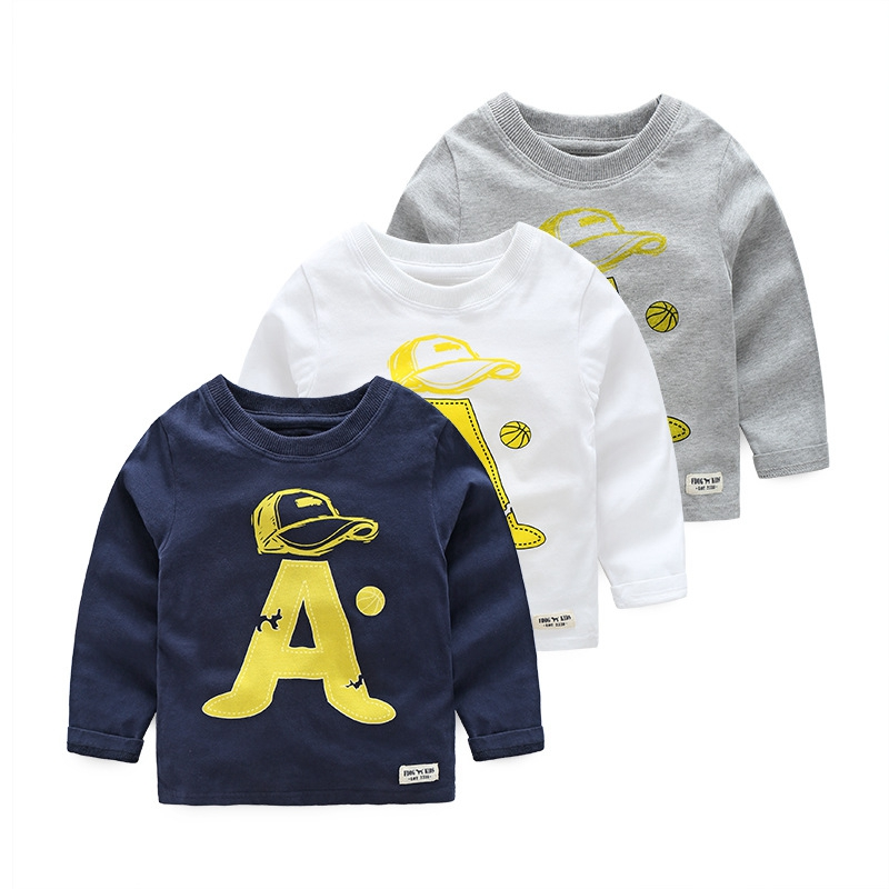 Autumn Children 2 6 Years Kids Infant Baby Boys A Letter ...