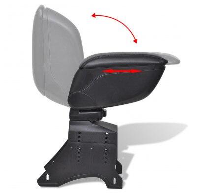 Фото подлокотник для автомобиля ibiza черный кожаный подлокотник цена