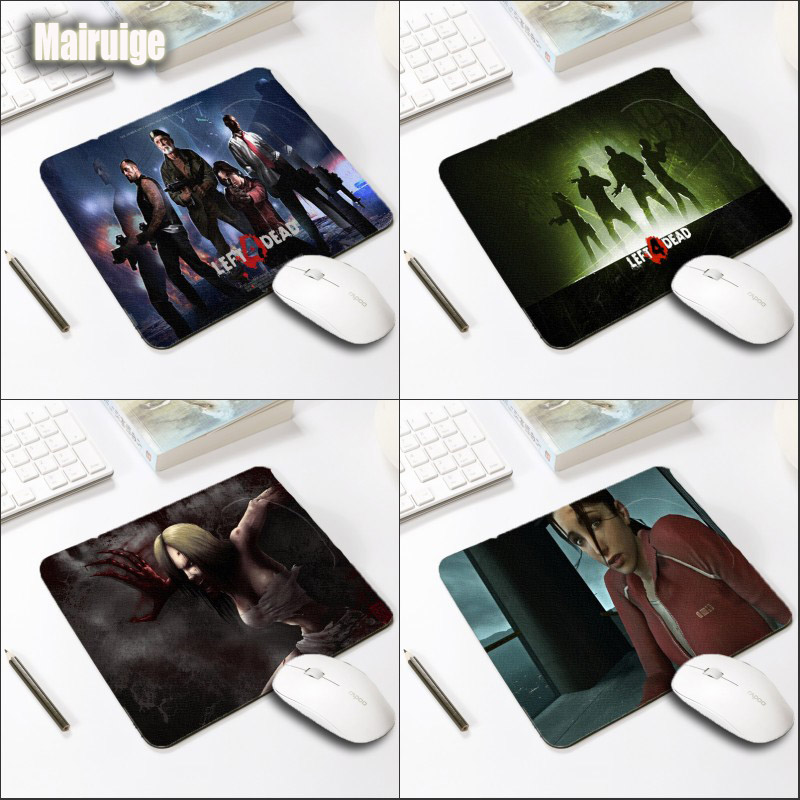 Mairuige Survival Game Left 4 Dead Game Mousepad Small Size 250x200x2MM for Pc Gamer Office High Quality Rubber Soft Table Mats
