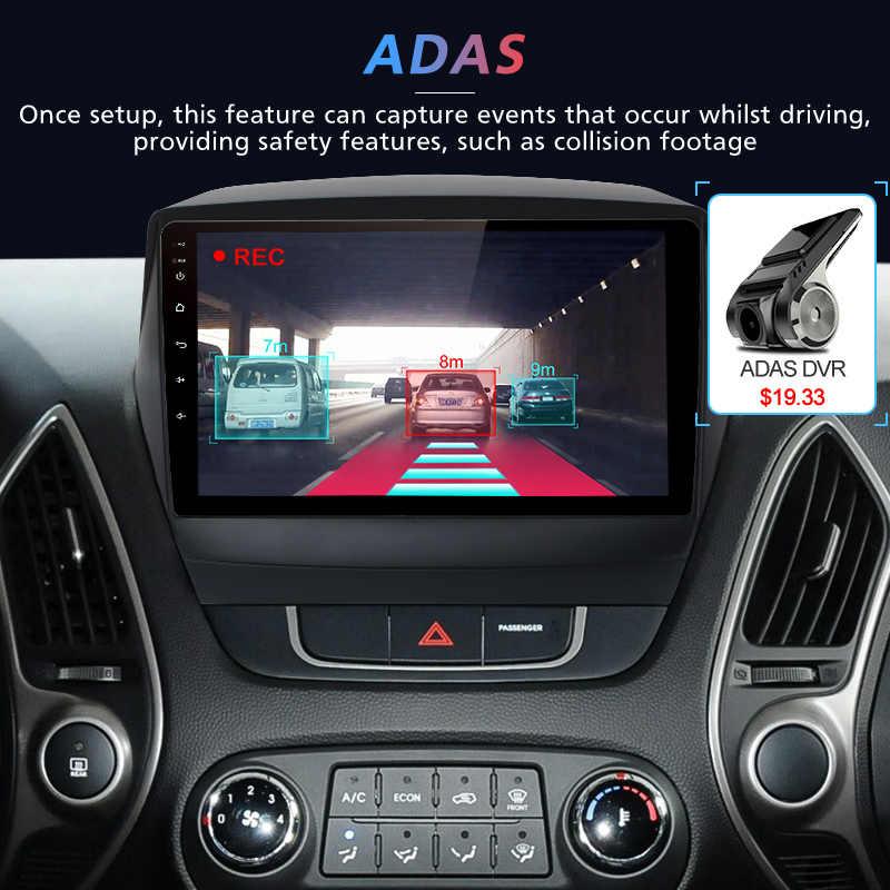 Junsun Штатное Головное устройство для Хендай Туксон ix35 2015 2016 2017 GPS навигатор Android 8.1 aвтомагнитола магнитола 2 din автомагнитолы Андроид для Hyundai Tucson 2 LM штатная магнитола автомобильная мультимедиа