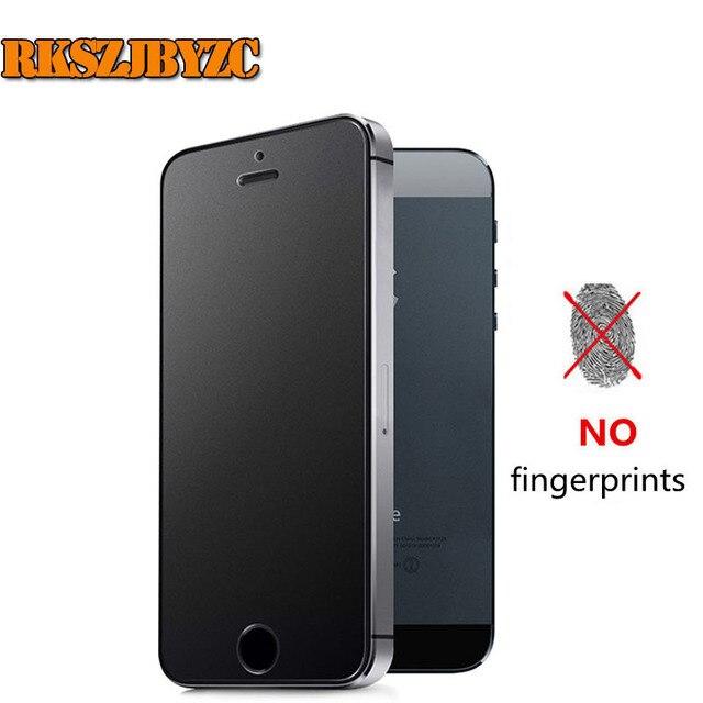 ac35b0624af 9 h 2.5d premium vidrio templado para el iphone 6s 6 helada mate 7 plus