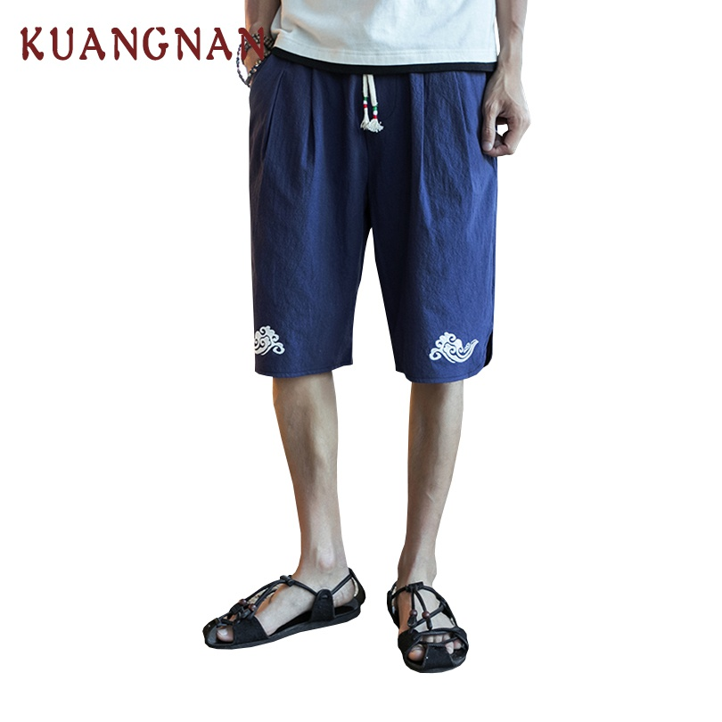 2018 New Chinese Style Shorts Men Joggers Mens Short Homme Sweatpants Short Masculino Bermuda Masculina pantalon corto hombre ...
