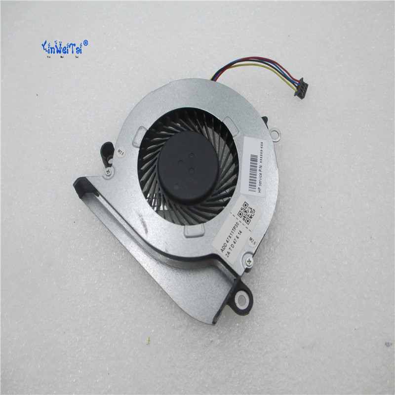 Brand New and Original CPU fan for HP ADDA AB06905HX08KB00 00CWX11 laptop cpu cooling fan cooler new original for hp 15 n017ax fan laptop cpu cooling fan for amd a10