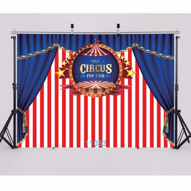 sjoloon vinyl carnival circus photography background baby and girl
