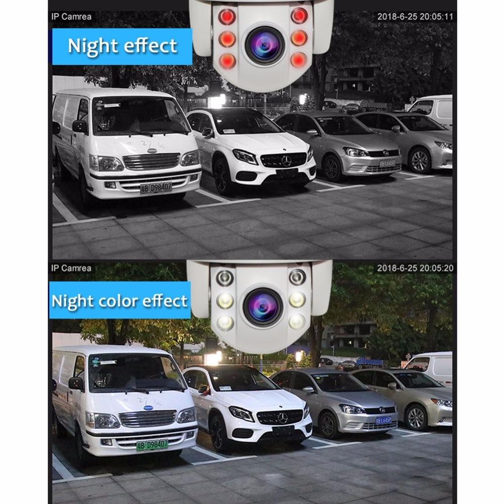 1080P HD Wifi Беспроводная ip камера для домашней безопасности, водонепроницаемая уличная Солнечная камера, ИК ночное видение, двухсторонняя ауди... - 4