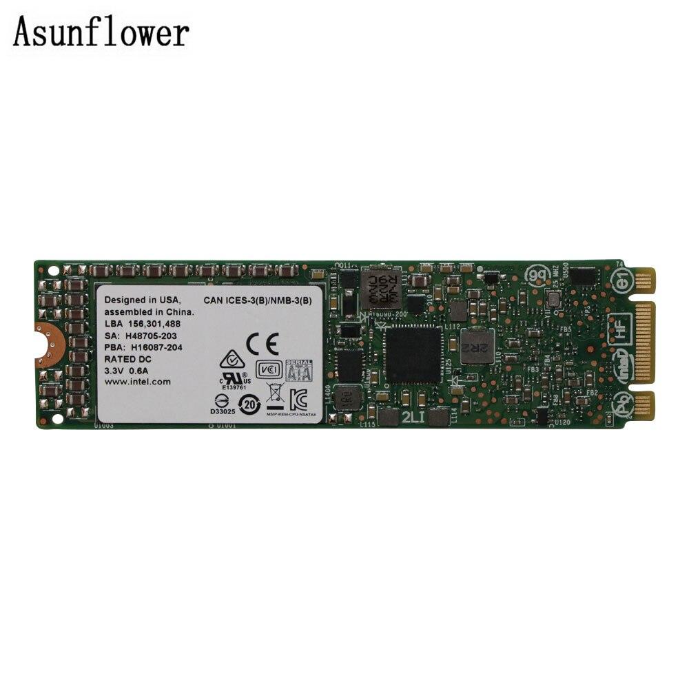 SSD Hard Disk For Intel SSDSCKHB080G4M EMC SSD DC S3500 Series 80GB, M.2 80MM SATA 6Gb/s intel s3510 series brown box 80gb ssd накопитель
