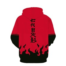 Seventh Hokage S~5XL Plus Size 3D Hoodie Pullovers