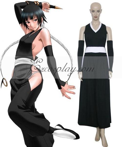 Blanchiment Soi Fon robe de combat Cosplay E001