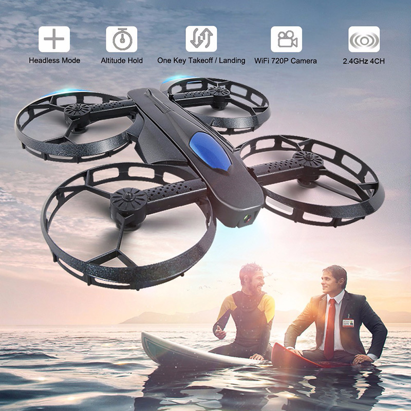 JJRC H45 BOGIE Foldable Selfie Drone Quadcopter with HD Camera WiFi APP Control FPV RC Helicopters Toys Gifts for Lovers Friends