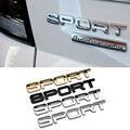 Автомобиль Стайлинг 1 X Hot Sports Слово письмо 3D Chrome металл Автомобиля Стикер Эмблема Значок Наклейка Авто Декор Наклейки 3 цвета