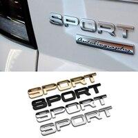 Car Styling 1 X Hot Sports Word Letter 3D Chrome Metal Car Sticker Emblem Badge Decal