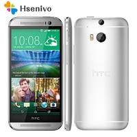 M8 Original Unlocked HTC One M8 5MP 2600mAh LTE 4G 32GB ROM 2GB RAM Quad Core