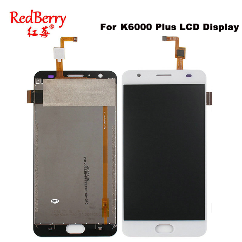 Redberry For Oukitel K6000 Plus LCD Display Mobile Phone Touch Screen Digitizer Assembly Replacement Parts With Tools