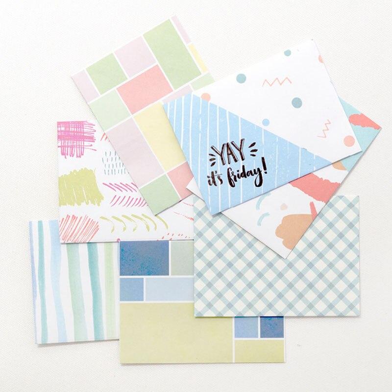 Формат открытки конверта и блокнота, открытка день рождения