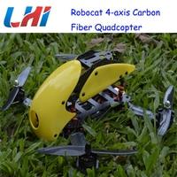Lipo Brushless Servo Drone Rc Plane Robocat Rtf Pdb 270 280 4 axis Carbon Fiber Quadcopter Cc3d 2204 12a Props Airplane