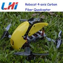 Lipo Brushless Servo Drone Rc Plane Robocat Rtf Pdb 270 280 4-axis Carbon Fiber Quadcopter Cc3d 2204 12a Props Airplane