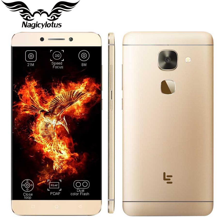 "Letv Leeco Le 2 Pro X620 Cell Phone MTK Helio X20 Deca Core 5.5"" 4GB RAM 32GB ROM Fingerprint 21.0 MP 4G Mobile Phone"