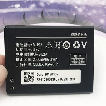 2018 BL-192 BL 192 BL192 2000mAh Battery For Lenovo Lephone A300 A750 A590 A680 A529 A328 A328T A338T A505E A388T A560 Battery