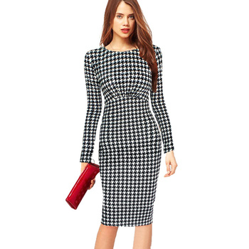 Fashionable Women Clothes 2017 Autumn Polka Dot Print Women Dresses Long Sleeve Plus Size 4XL Casual Dress Vestidos Femininos