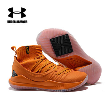 UAカレー5アンダーアーマーバスケットボールシューズメンズファイブウェアラブルスポーツスニーカーライトクッション通気性シューズサイズ40-45 sepatu terbaruアンダーアーマー