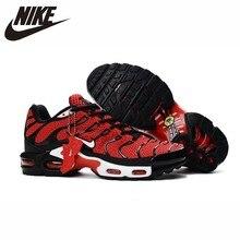 лучшая цена Nike Air Max Plus TN Original New Arrival Men Running Shoes Breathable Anti-slippery Outdoor Sports Sneakers #604133