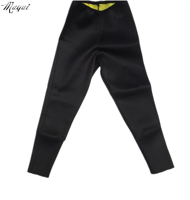 Hot on tv Leg Shapers Fit Sweat Body Shaper weight loss long pants super stretch neoprene Fitness Leggings tight pants