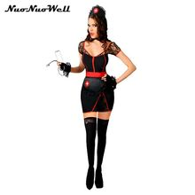d61f07e9e0d4 Adult Female Sexy Lingerie Role Playing Fancy Hot Midnight Nurse s Costume  Halloween Performance for Cosplay Party