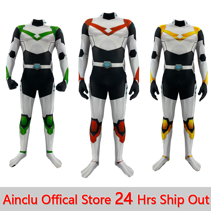 Adults Kids Voltron Cosplay Costumes Anime Game Voltron Defender Of The Universe Cosplay Bodysuit Jumpsuit Suit For Halloween